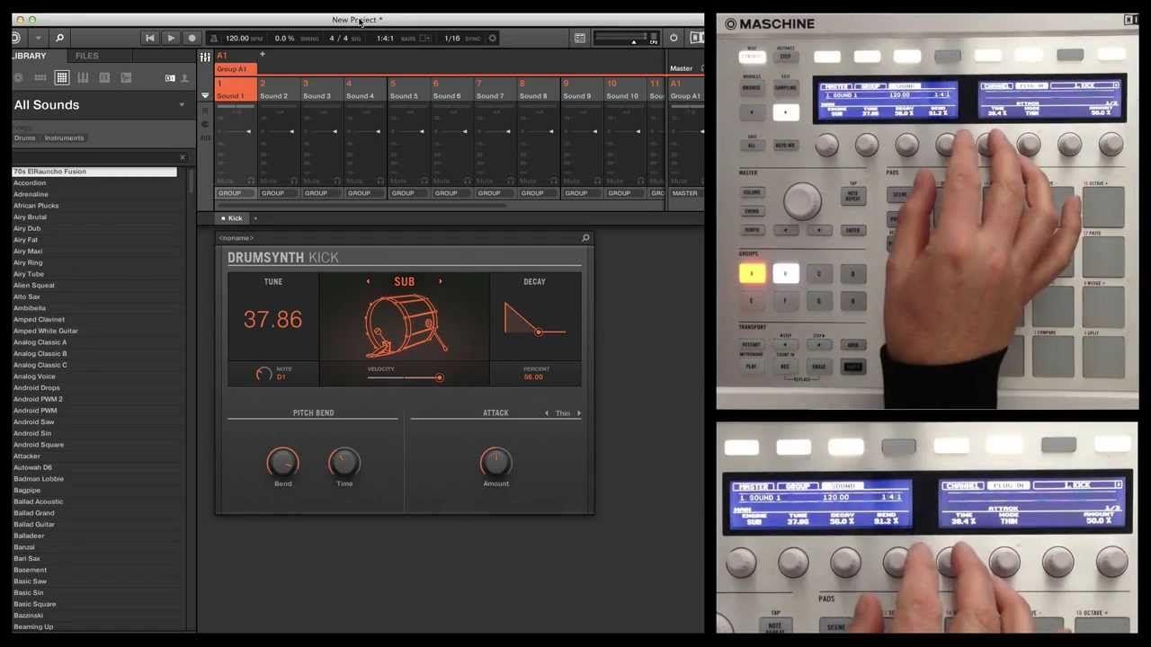 native instruments maschine studio tutorial