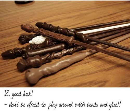 harry potter wand tutorial