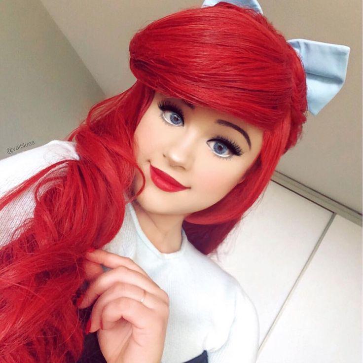 disney princess ariel makeup tutorial