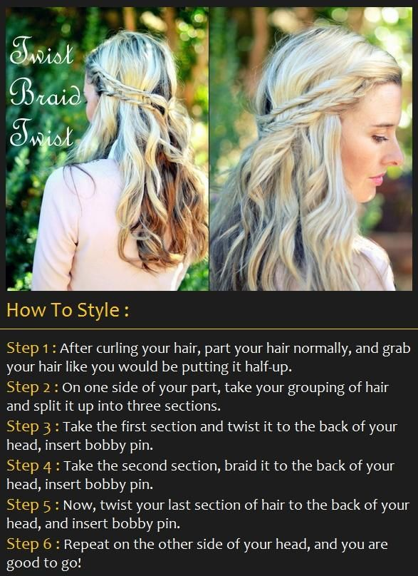 easy wavy hair tutorial