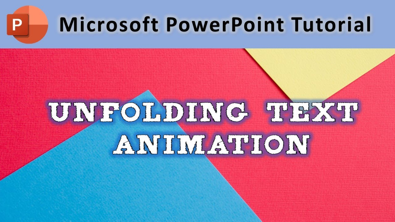 powerpoint 2016 animation tutorial