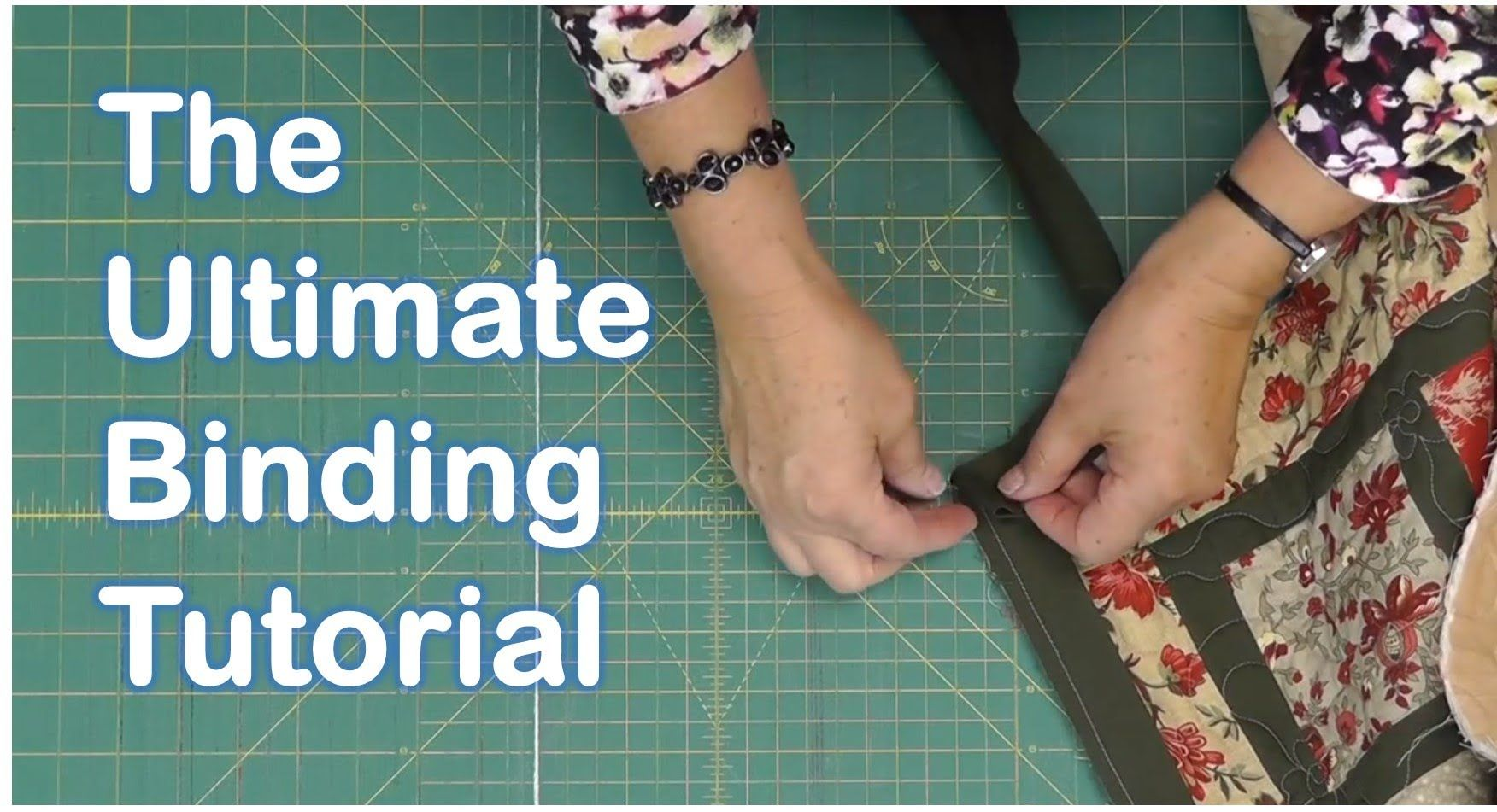 bias quilt binding tutorial
