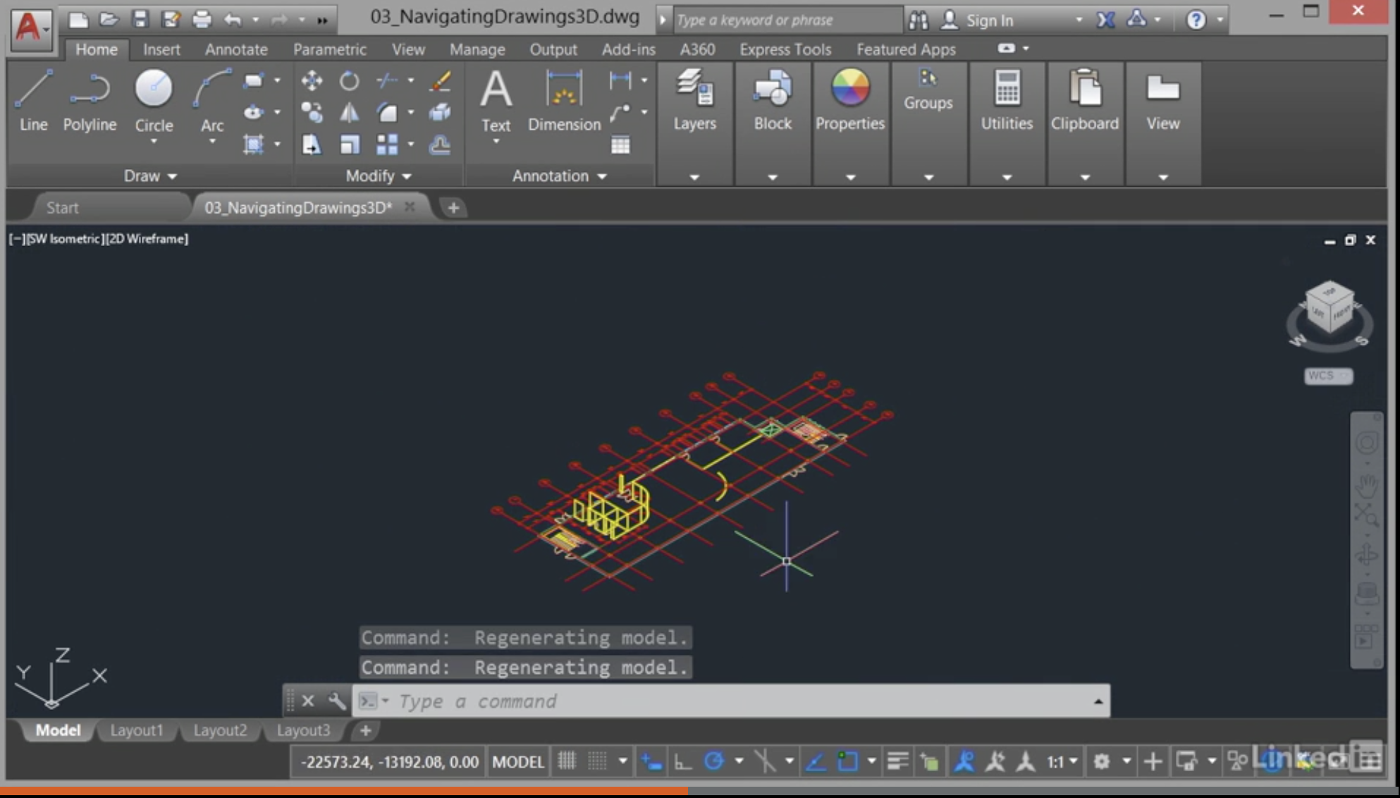 layer in autocad tutorial