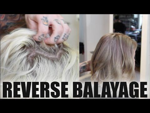 reverse ombre hair tutorial