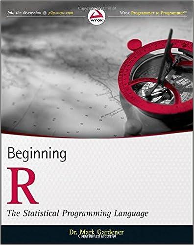r statistical programming language tutorial