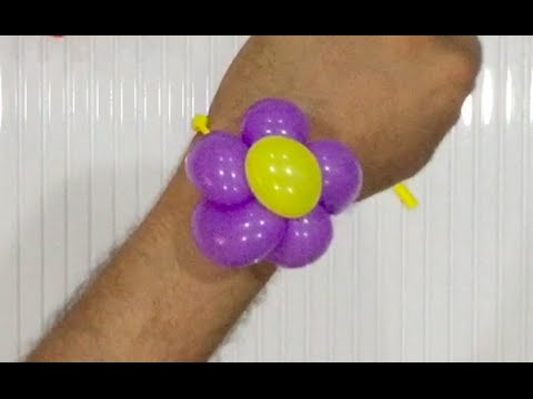 balloon twisting tutorial flower