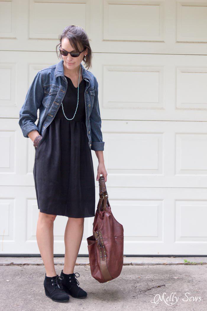 little black dress tutorial
