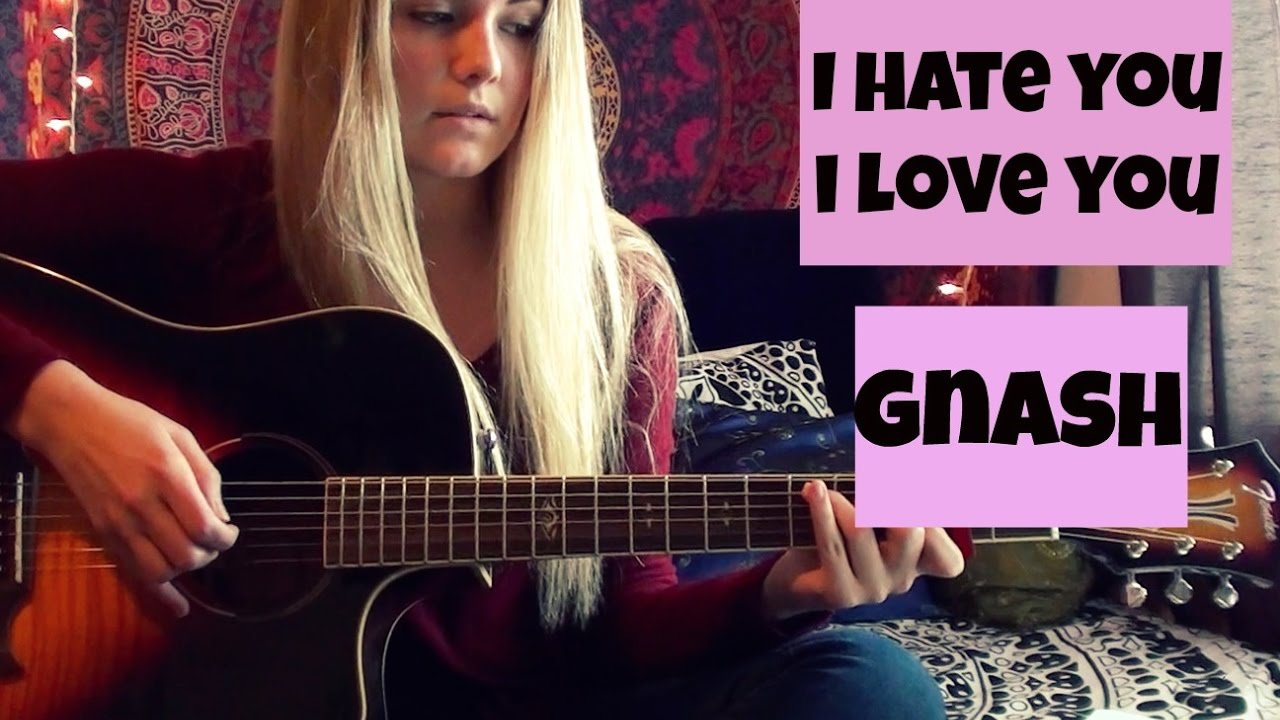 hate that i love you guitar tutorial