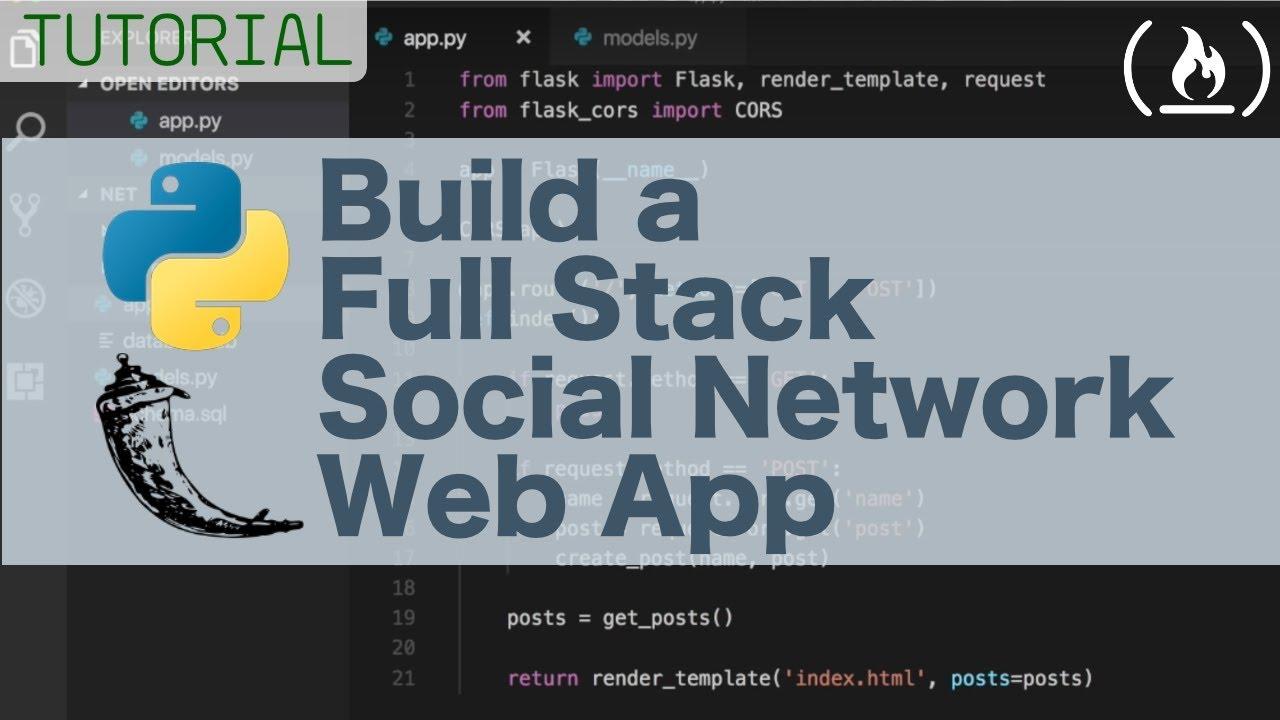 python social network tutorial