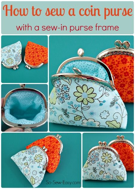 metal purse frame tutorial