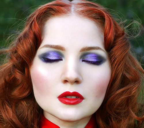eye makeup tutorial for redheads