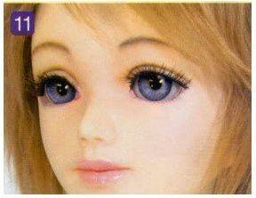 human doll makeup tutorial