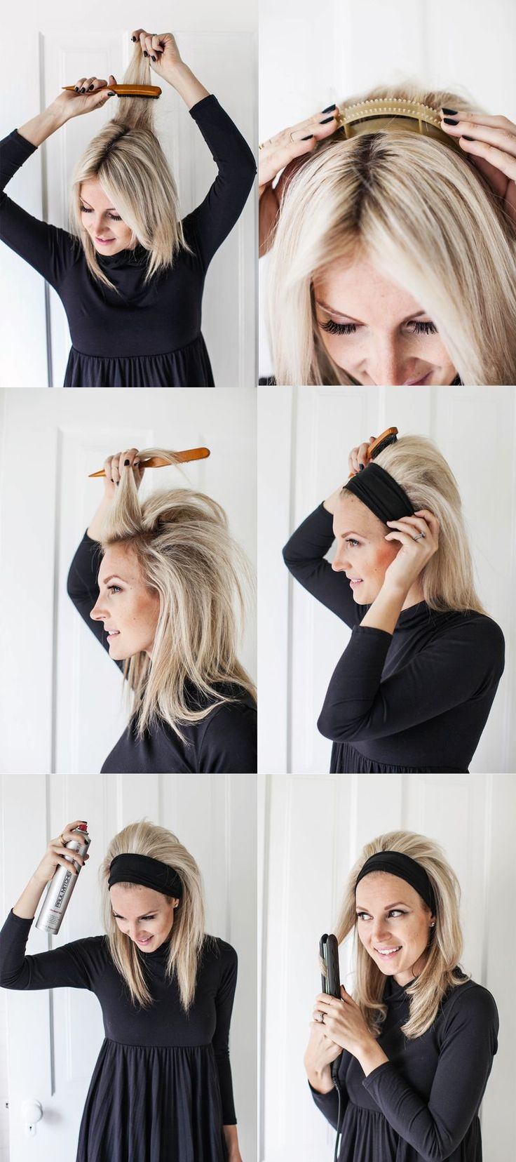 50s hairstyles for short hair tutorial