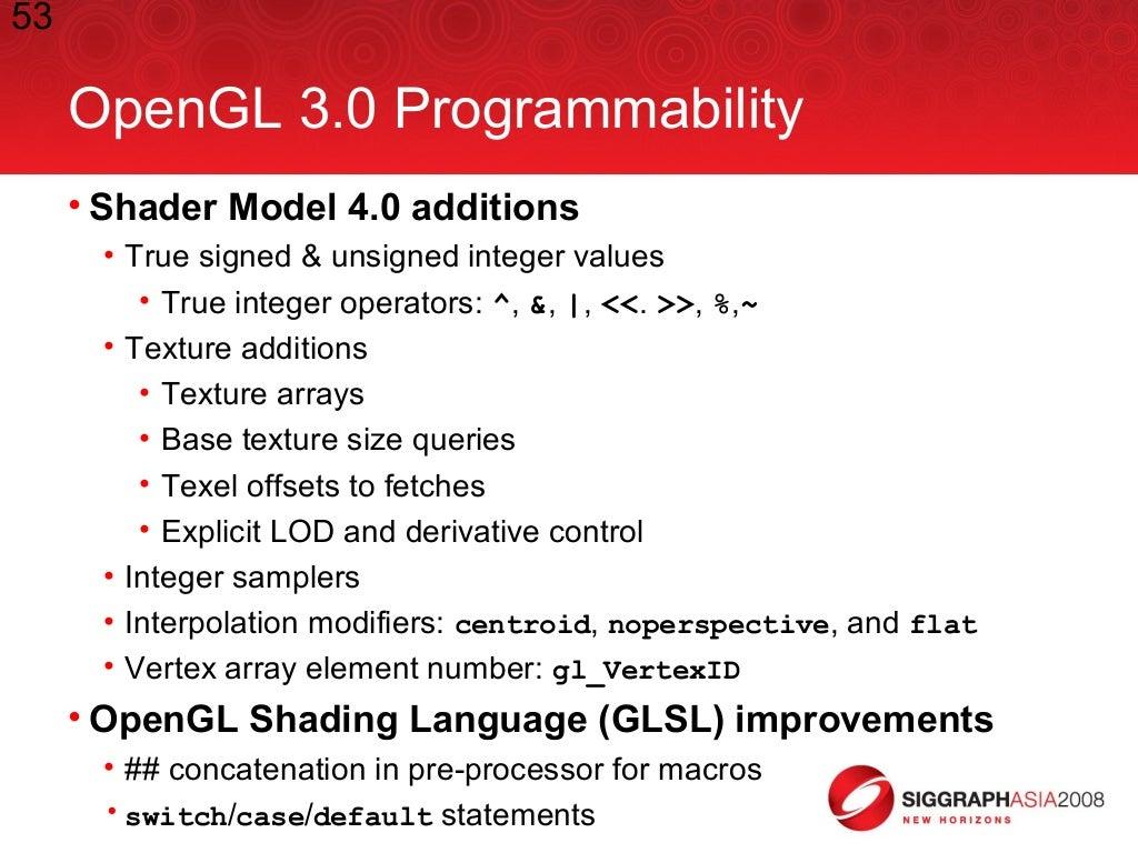 opengl 3.0 tutorial