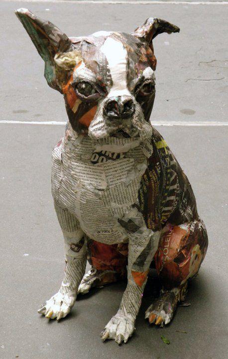 paper mache dog tutorial