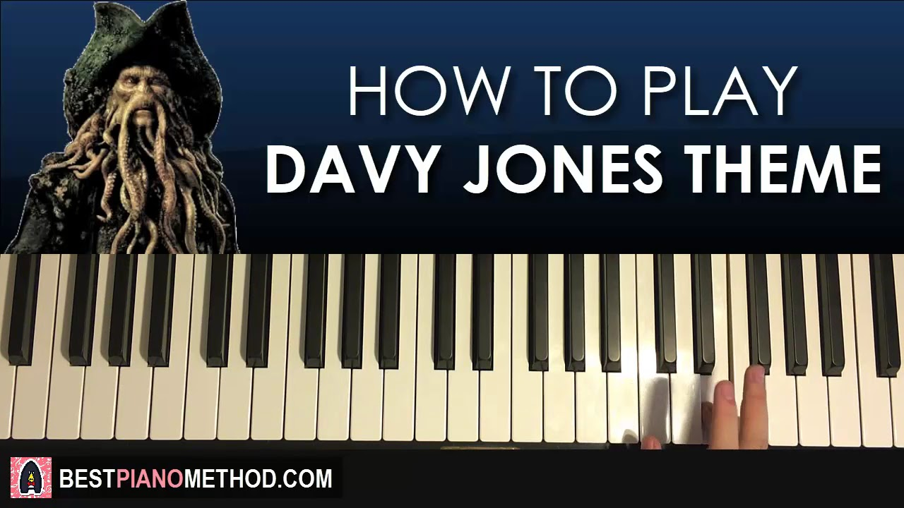 pirates of the caribbean piano tutorial easy