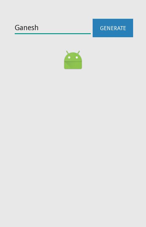 zxing qr code generator android tutorial