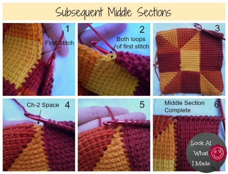 ten stitch blanket tutorial