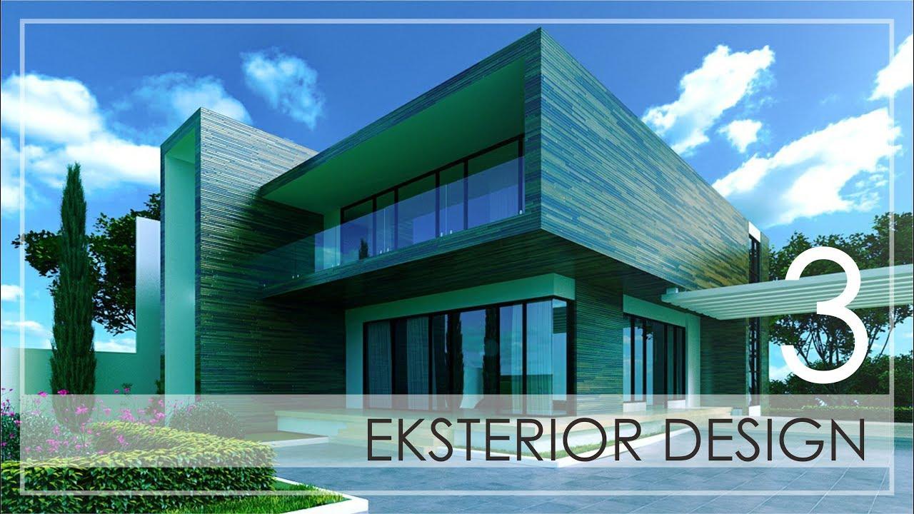 3ds max architecture tutorial exterior