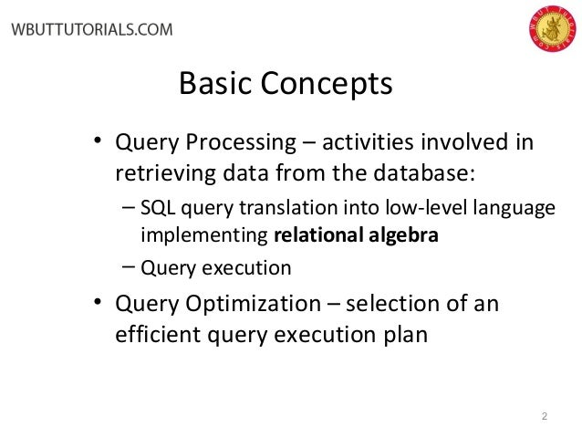 sql query language tutorial