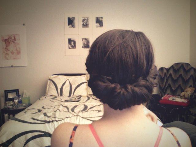 gibson girl hair tutorial