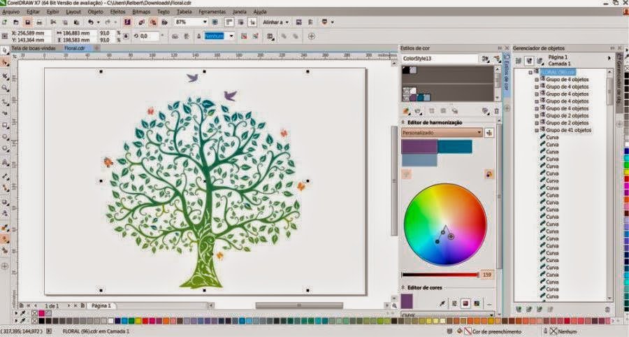 corel draw x3 tutorial pdf
