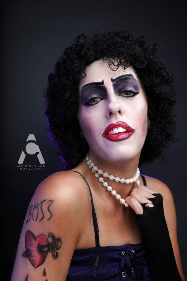 dr frank n furter makeup tutorial
