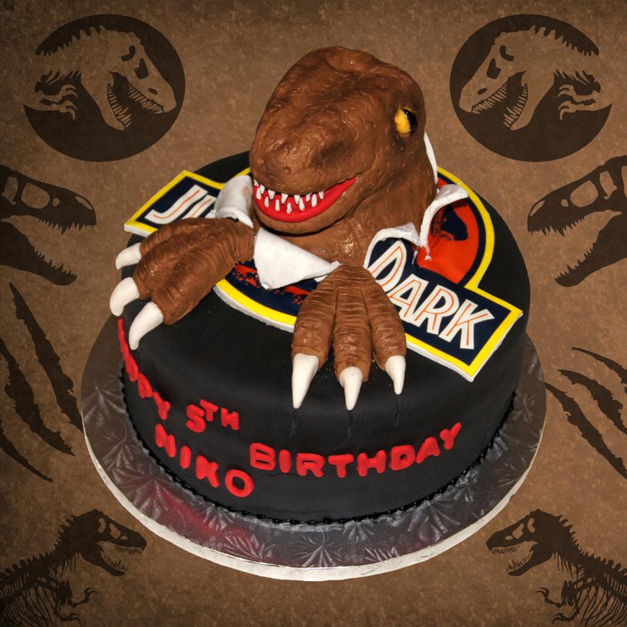 3d dinosaur cake tutorial