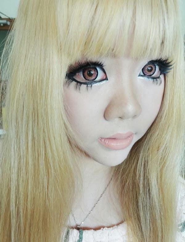 japanese doll eyes makeup tutorial