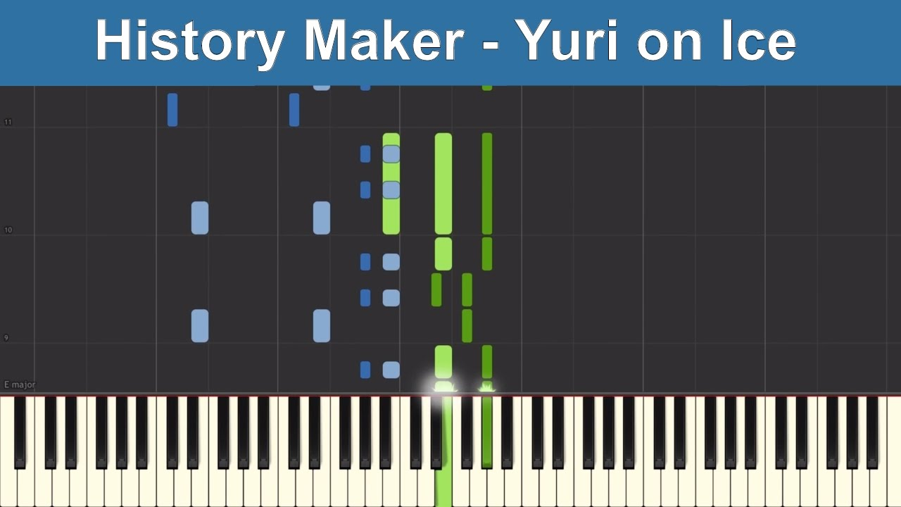 yuri on ice piano tutorial