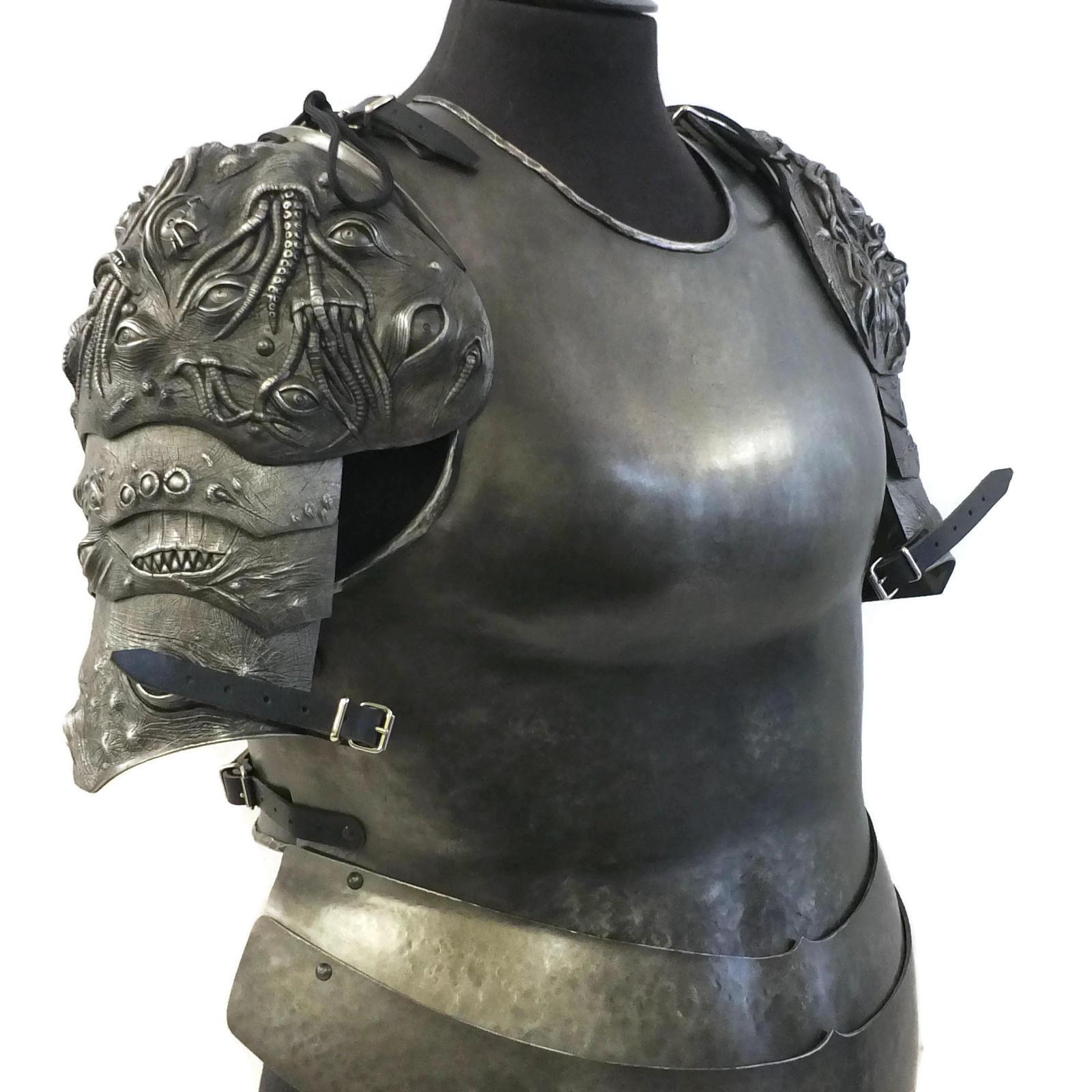 female chest armor tutorial