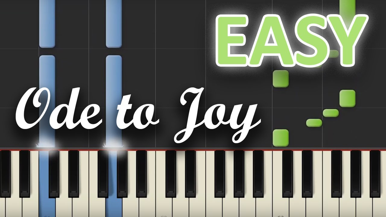 joy to the world piano tutorial