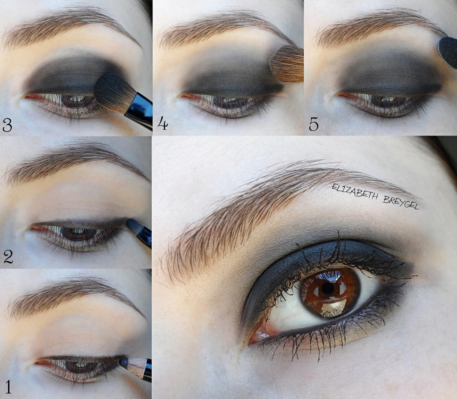 gothic smokey eye tutorial