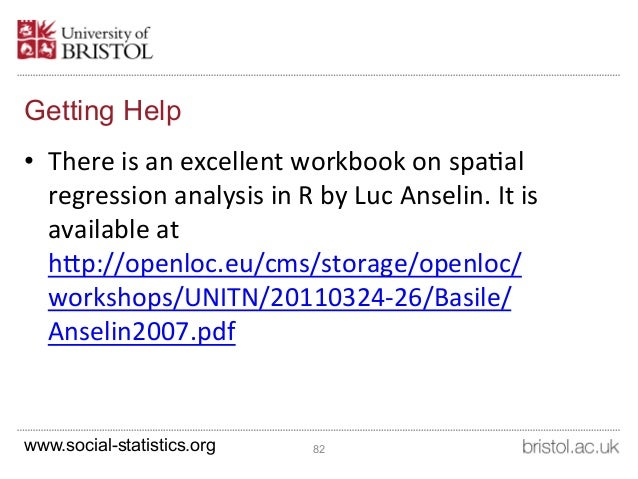 spatial data analysis in r tutorial
