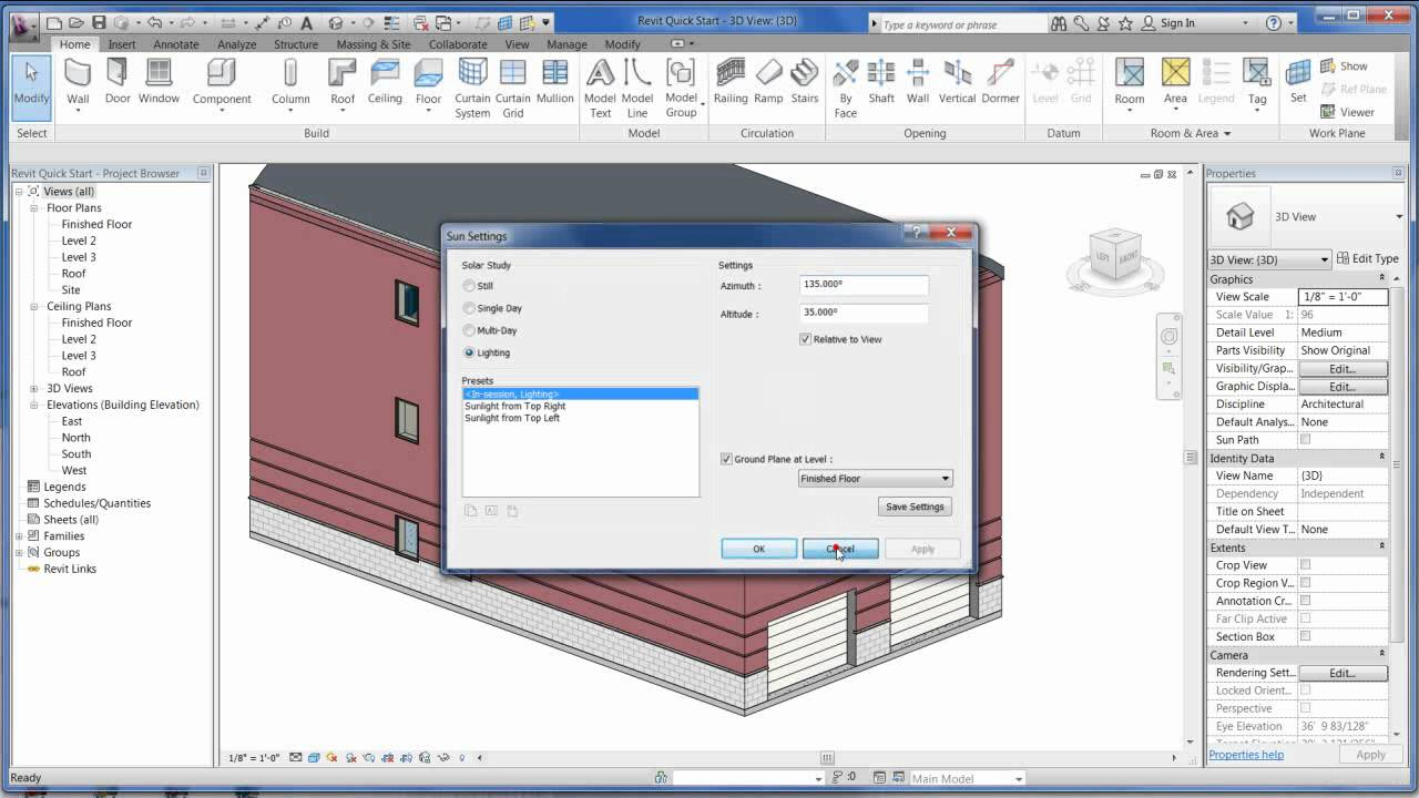 revit structure tutorial youtube