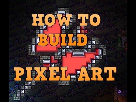 terraria pixel art tutorial