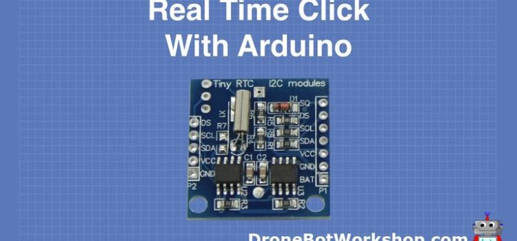 arduino real time clock module tutorial