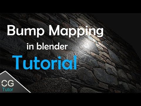 gimp bump map tutorial