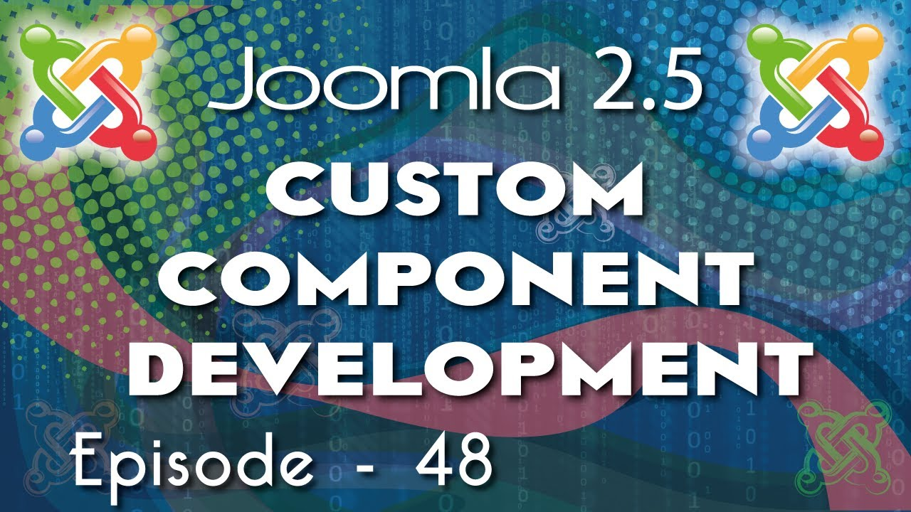 joomla component development tutorial mvc