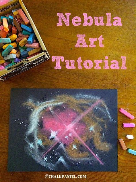oil pastel sky tutorial