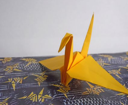 origami crane easy to follow tutorial