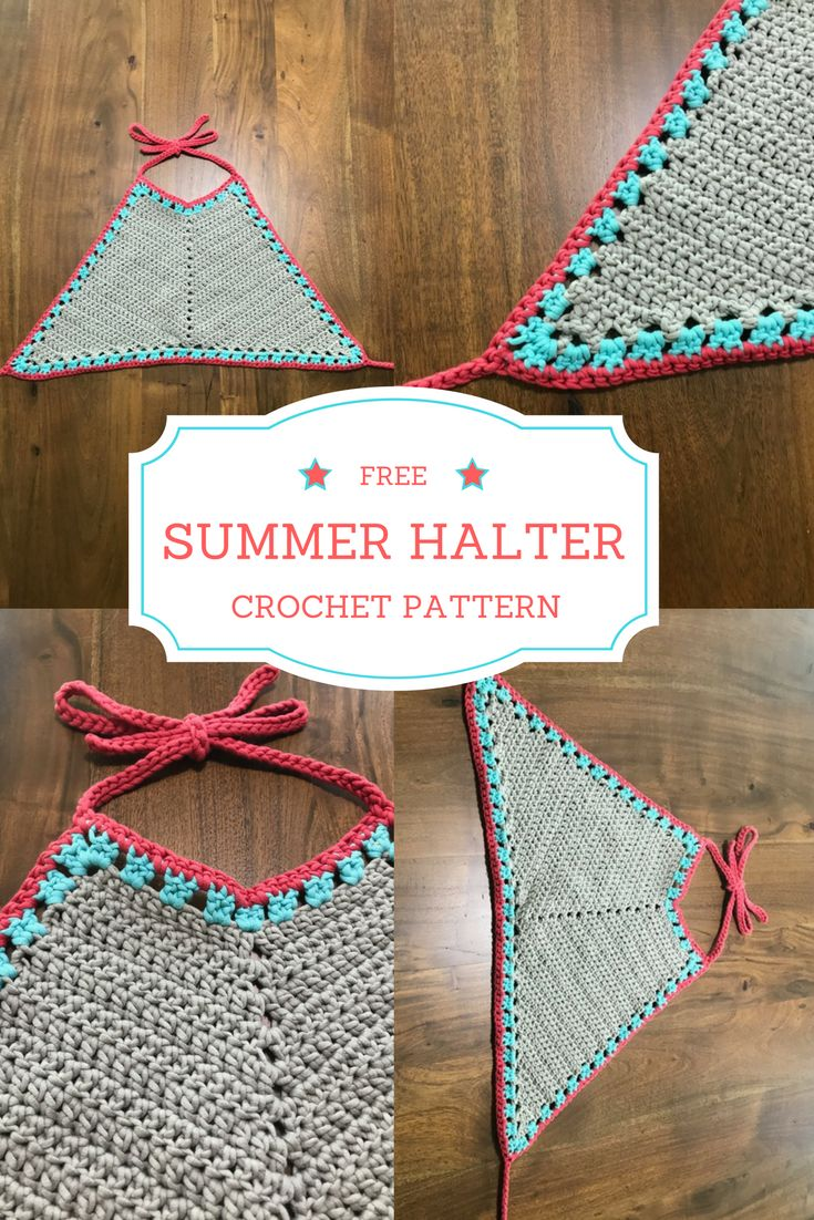 crochet bikini pattern tutorial