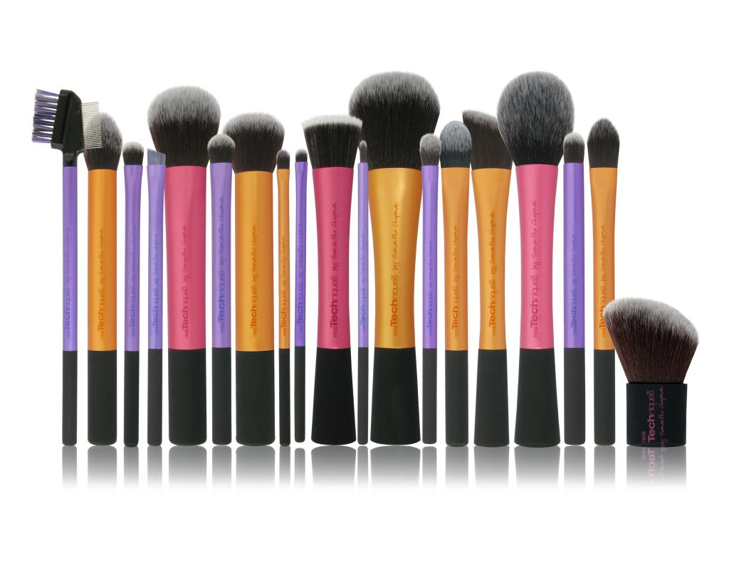 real techniques blush brush tutorial