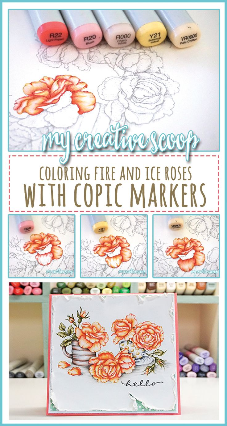 copic marker art tutorial