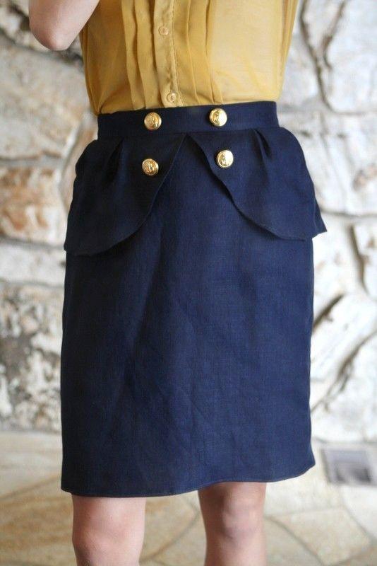 diy peplum dress tutorial