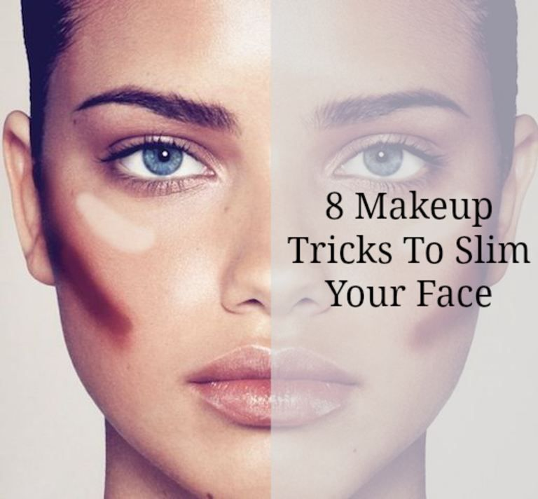 face slimming makeup tutorial