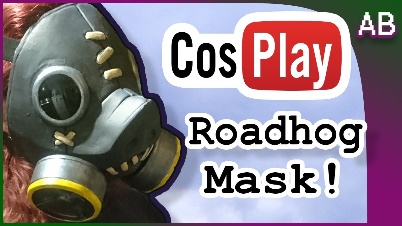 cosplay gas mask tutorial