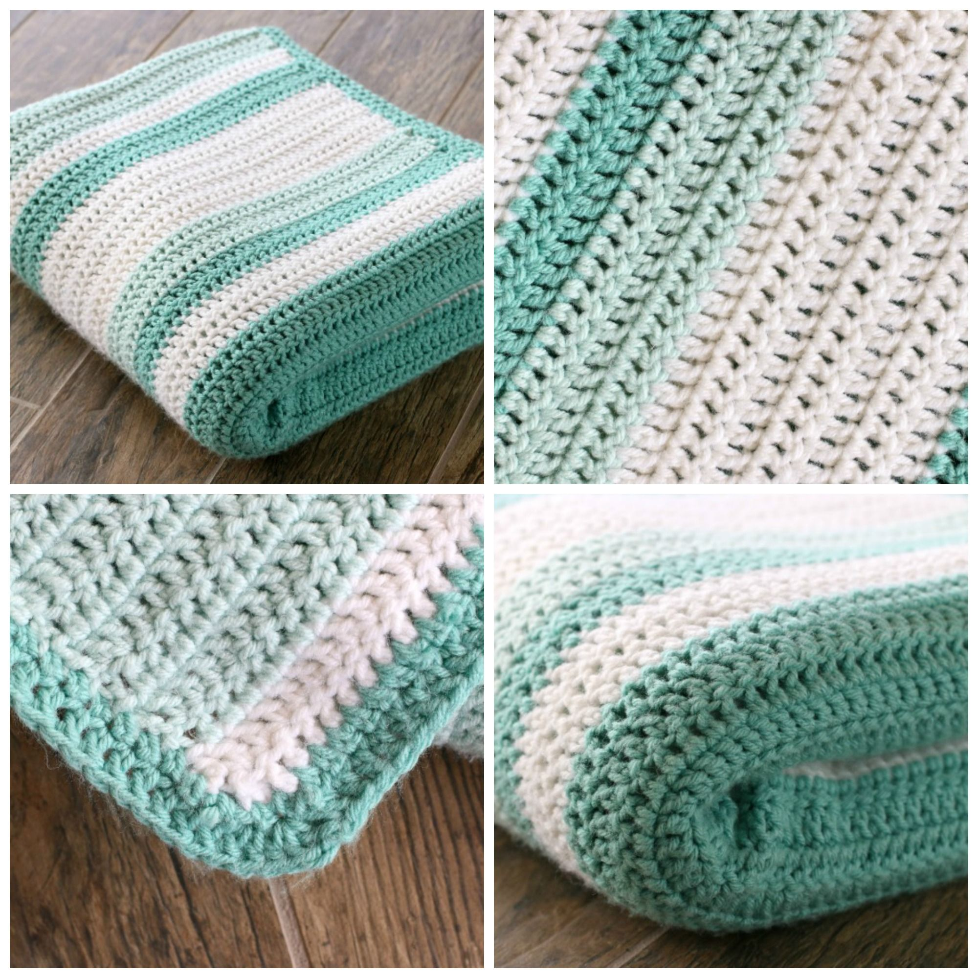 double crochet afghan tutorial