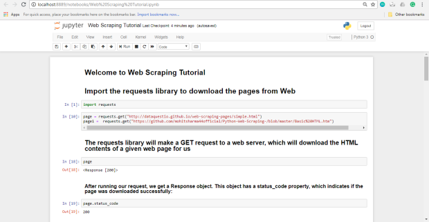 web scraping beautifulsoup tutorial
