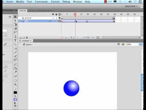 adobe flash cs5 tutorial